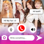 Black PinK Messenger Chat Call Prank Simulation