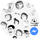 Meme Stickers for Messenger JoeStudio